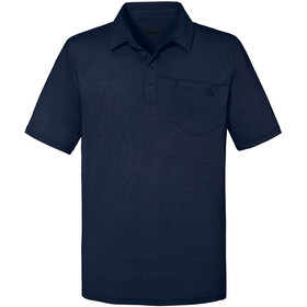 Schöffel Scheinberg Polo Shirt Men, moonlit ocean